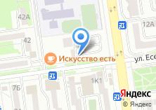 Компания «Автостоянка на ул. Есенина» на карте