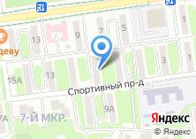 Компания «Домостроитель» на карте