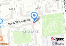 Компания «Строящийся жилой дом по ул. Комсомольская» на карте