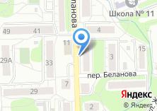 Компания «Мясная лавка на ул. Беланова» на карте