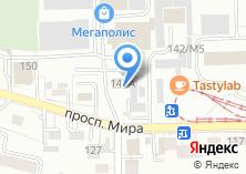 Компания «Салон памятников» на карте