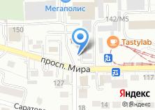 Компания «Мебельщик» на карте
