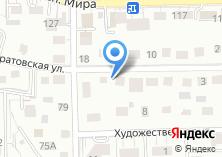 Компания «Саратовская 13» на карте