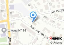 Компания «ЖЭУ Вагоностроитель» на карте