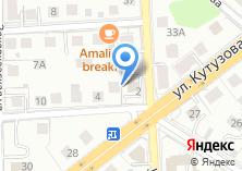 Компания «Соломон» на карте