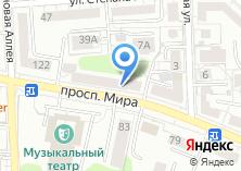 Компания «Тур-А» на карте