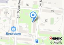 Компания «Секонд-хенд на ул. Победы» на карте