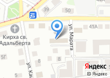 Компания «Алеком» на карте