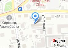 Компания «Позитрон» на карте