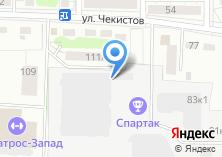 Компания «Калининградская региональная федерация тенниса» на карте