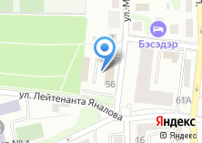 Компания «ГИБДД центрального района г. Калининграда» на карте