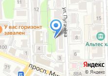 Компания «1-ая городская социальная аптека» на карте