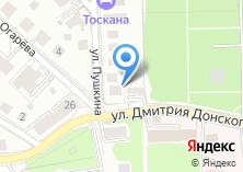 Компания «Строящийся жилой дом по ул. Дмитрия Донского» на карте