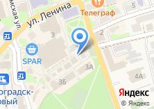 Компания «Кафе-закусочная на ул. Тургенева» на карте