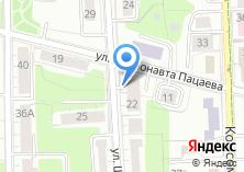 Компания «В Зазеркалье» на карте