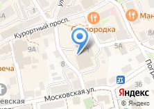 Компания «Парикмахерская на Московском 3-м переулке» на карте