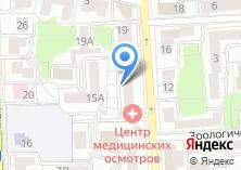 Компания «Банкомат КБ Интеркоммерц» на карте