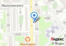 Компания «Салон-парикмахерская на ул. Космонавта Леонова» на карте