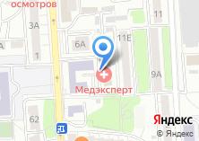 Компания «МедЛайн» на карте