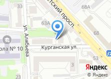 Компания «ТкаНити» на карте