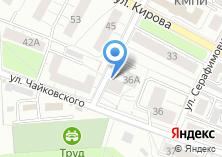 Компания «Магазин окон и дверей на ул. Чайковского» на карте