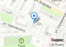 Компания «Макет» на карте