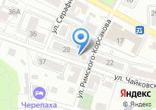 Компания «Салон-ателье Георгия Казаликашвили» на карте