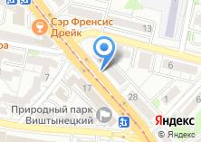 Компания «АКБ Пробизнесбанк» на карте