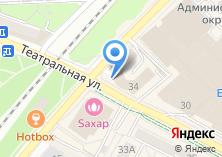 Компания «Янтарьэнерго» на карте