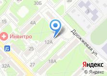 Компания «Спортклуб ЦРК» на карте