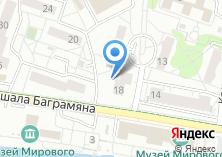 Компания «Парикмахерская на Набережной Маршала Баграмяна» на карте