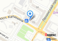 Компания «КБ Энерготрансбанк» на карте