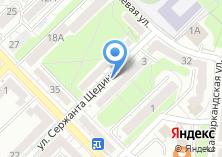 Компания «Сток-центр на ул. Сержанта Щедрина» на карте