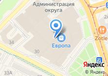 Компания «Bershka» на карте