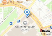 Компания «Городской центр геодезии» на карте