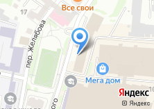 Компания «Юрекс» на карте
