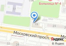Компания «Техноавиа-Калиниград» на карте