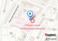 Компания «Центр специализированных видов медицинской помощи Калининградской области» на карте