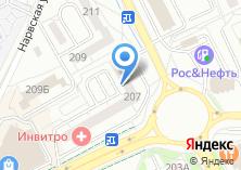 Компания «СТАЛЬНАЯ ЛИНИЯ» на карте