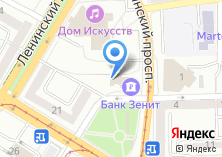 Компания «Адвокатский кабинет Моисеевой М.Л» на карте