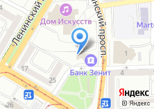 Компания «Балтийские рестораны» на карте