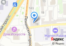 Компания «Зебра» на карте