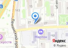 Компания «Ромб» на карте