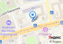 Компания «Магазин нижнего белья на ул. Профессора Баранова» на карте
