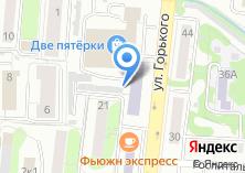 Компания «МГИУ Московский государственный индустриальный университет» на карте