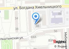 Компания «Строящееся административное здание по ул. Богдана Хмельницкого» на карте