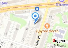 Компания «Оптика Фрейм39» на карте