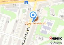 Компания «Первый супермаркет окон» на карте