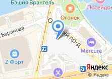 Компания «Калининградская кондитерская фабрика» на карте