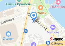 Компания «Шиномонтажная мастерская на Озёрном проезде» на карте